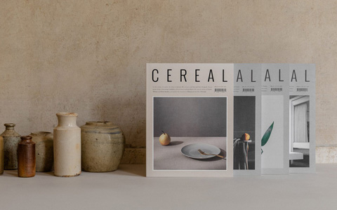 Biannual Cereal magazine.