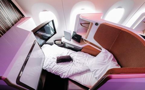 Virgin Atlantic Upper Class.